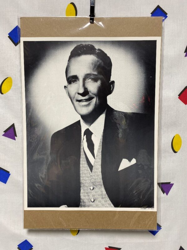 product details: BING CROSBY HOLLYWOOD STAR HEADSHOT PHOTO WHITE CHRISTMAS HIGH SOCIETY GOING MY WAY photo
