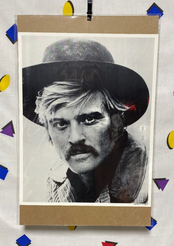 product details: ROBERT REDFORD HOLLYWOOD STAR HEADSHOT PHOTO BUTCH CASSIDY AND THE SUNDANCE KID photo