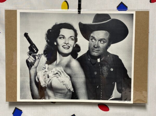 product details: BOB HOPE JANE RUSSEL HOLLYWOOD STARS HEADSHOT PHOTO THE PALEFACE COWBOY CALAMITY JANE photo
