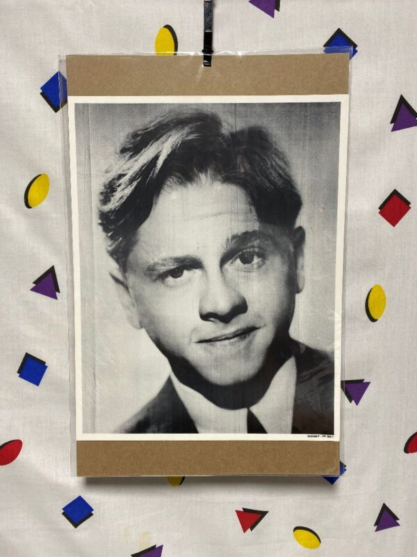 product details: MICKEY ROONEY HOLLYWOOD STAR HEADSHOT PHOTO MAD WORLD REQUIEM FOR A HEAVYWEIGHT photo
