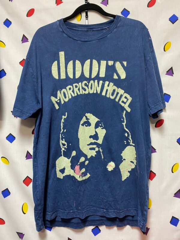 product details: THE DOORS MORRISON HOTEL MINERAL WASH TSHIRT photo