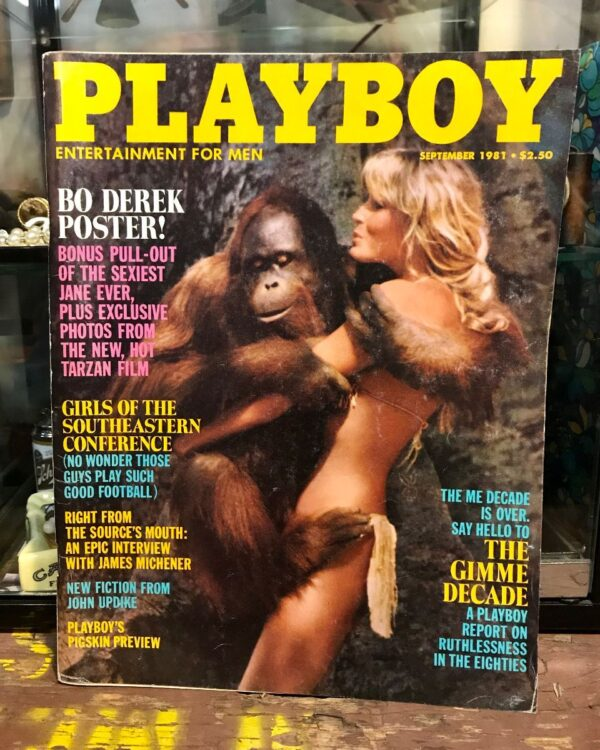 product details: PLAYBOY MAGAZINE - SEPTEMBER 1981 BO DEREK TARZAN FILM | SOUTHEASTERN CONFERENCE photo
