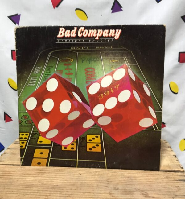 product details: BAD COMPANY STRAIGHT SHOOTER SHOOTING STAR LP ALBUM photo