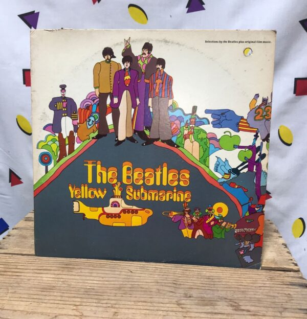 product details: THE BEATLES YELLOW SUBMARINE LP ALBUM photo