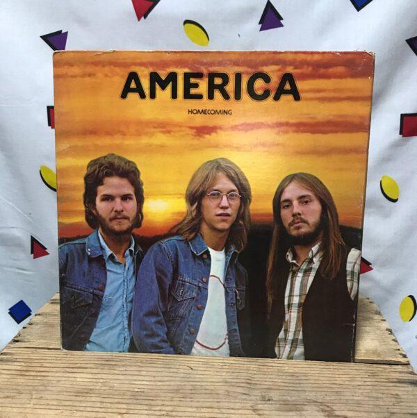 product details: AMERICA HOMECOMING LP ALBUM  FOLK ROCK, SOFT ROCK, CLASSIC ROCK VENTURA HIGHWAY photo