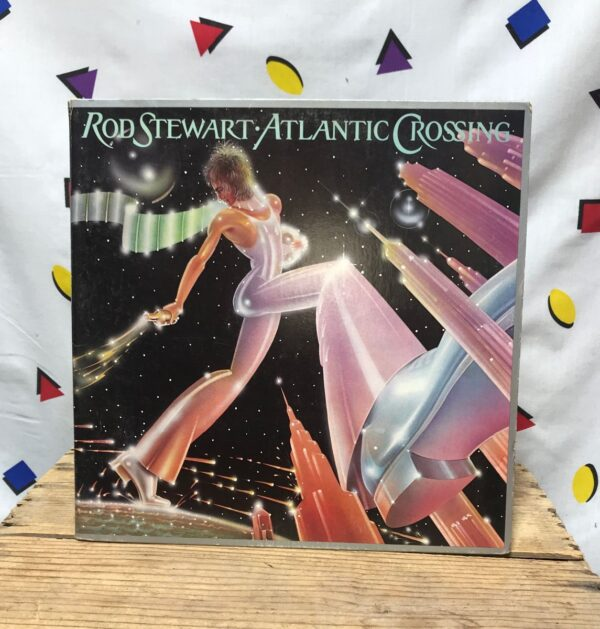 product details: ROD STEWART ATLANTIC LP ALBUM CROSSING ROCK BLUES THIS OLD HEART OF MINE photo