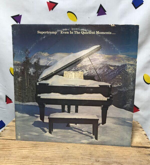 product details: SUPERTRAMP EVEN IN THE QUIETEST MOMENTS... LP ALBUM GIVE A LITTLE BIT ART ROCK POP ROCK photo