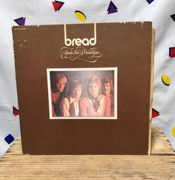 product details: BREAD BABY IM A WANT YOU LP ALBUM POP ROCK COUNTRY ROCK SOFT ROCK photo