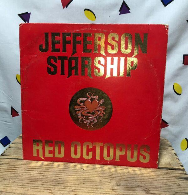 product details: JEFFERSON STARSHIP RED OCTOPUS LP ALBUM CLASSIC ROCK photo