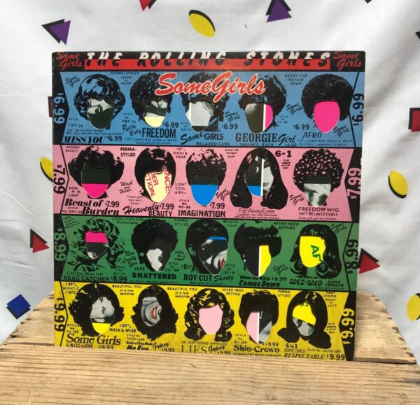 product details: ROLLING STONES SOME GIRLS  BLUES ROCK ROCK AND ROLL CLASSIC ROCK DISCO LP ALBUM photo