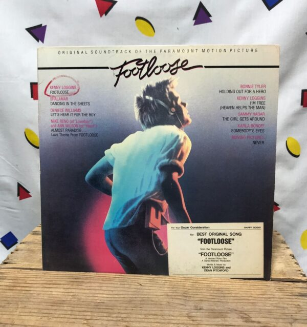 product details: VARIOUS FOOTLOOSE ORIGINAL MOTION PICTURE SOUNDTRACK POP ROCK KEVIN BACON KENNY LOGGINS photo
