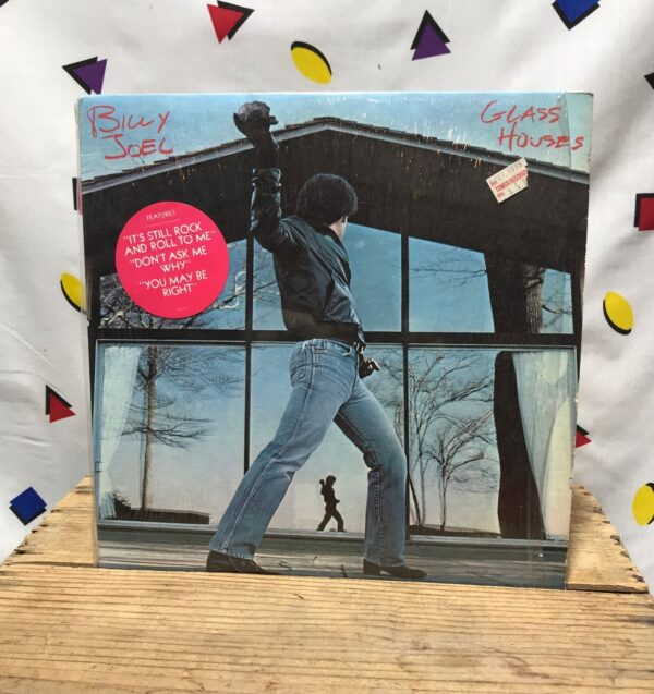 product details: BILLY JOEL GLASS HOUSES POP ROCK AND ROLL YOU MAY BE RIGHT LP ALBUM photo