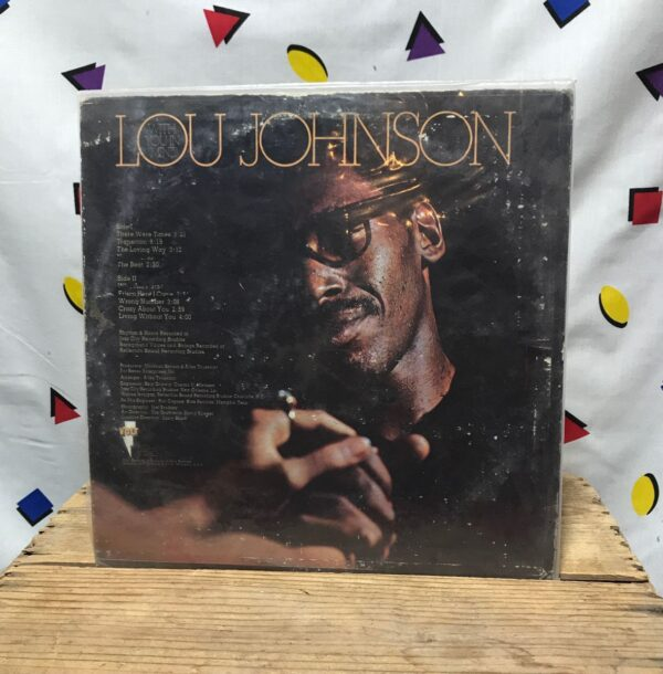 product details: LOU JOHNSON WITH YOU IN MIND FUNK SOUL LP ALBUM photo