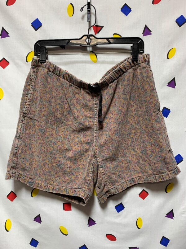 product details: COOL COTTON PRINTED HIKING SHORTS ADJUSTABLE WAIST photo