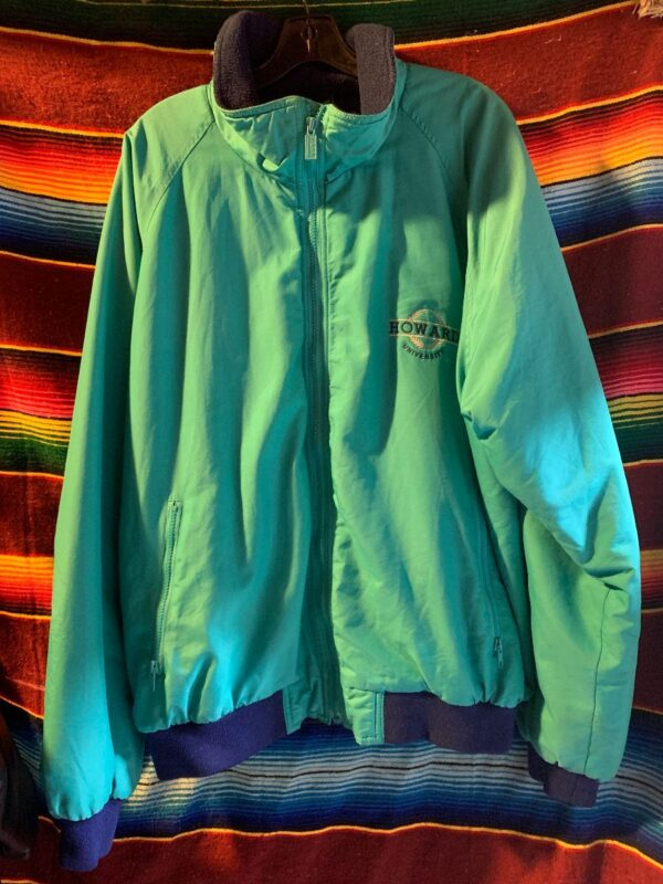 product details: BRUSHED COTTON & FLEECE LINED ZIPUP OUTERWEAR JACKET photo