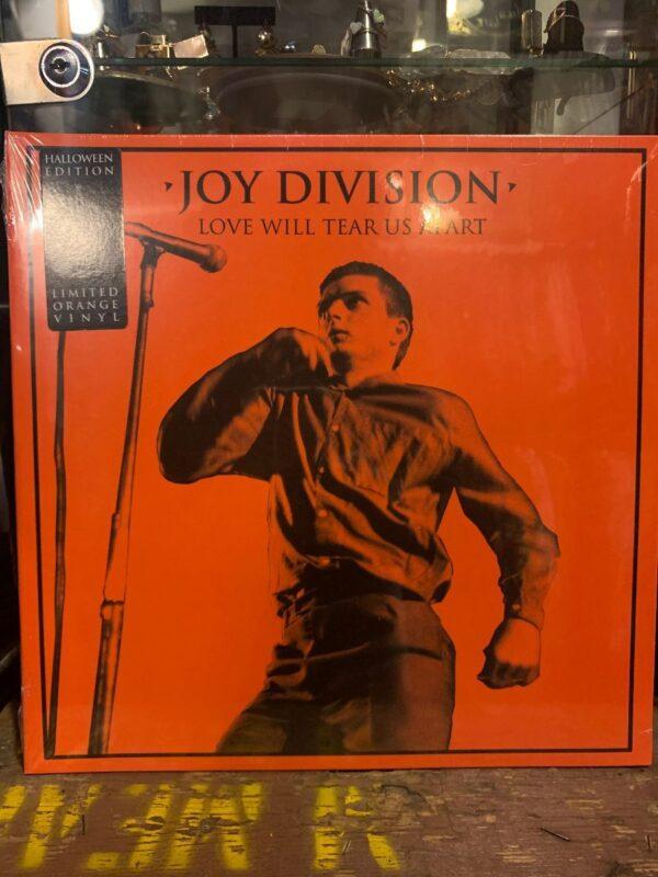 product details: BW VINYL JOY DIVISION - LOVE WILL TEAR US APART photo