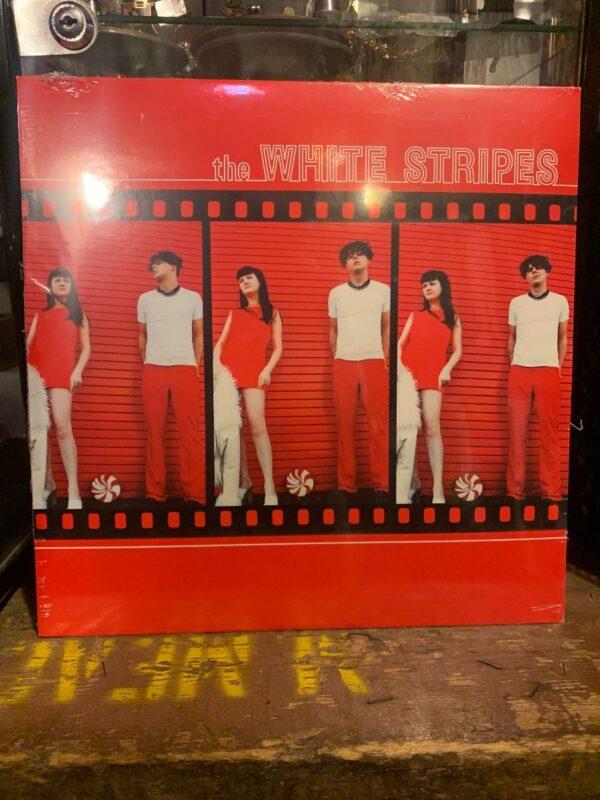 product details: BW VINYL THE WHITE STRIPES - WHITE STRIPES photo