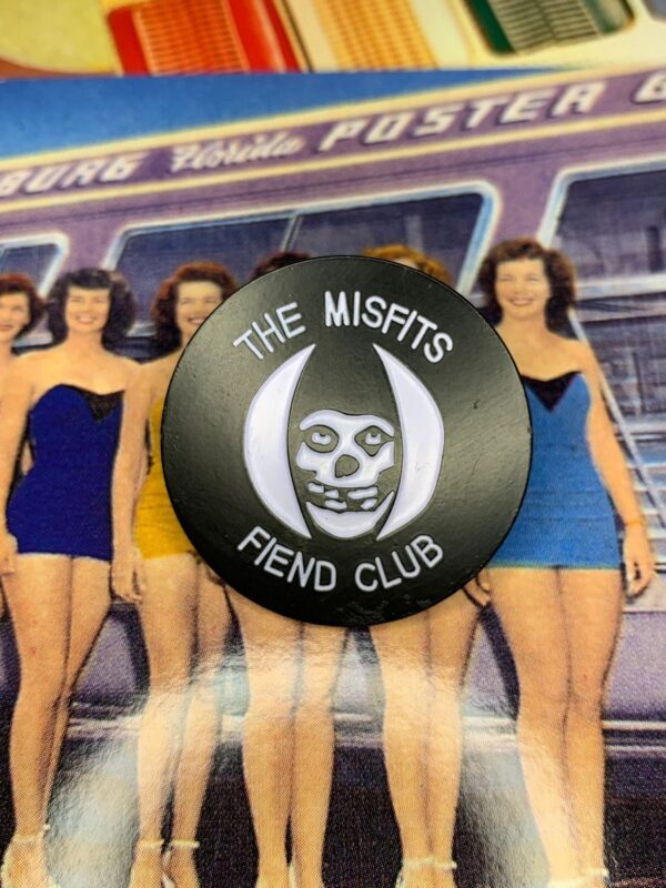 product details: NEW PIN - MISFITS FIEND CLUB photo