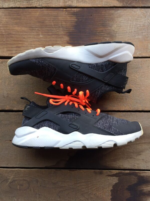 product details: NIKE AIR HUARACHE RUN ULTRA BREATHE BLACK SUMMIT WHITE SNEAKERS photo