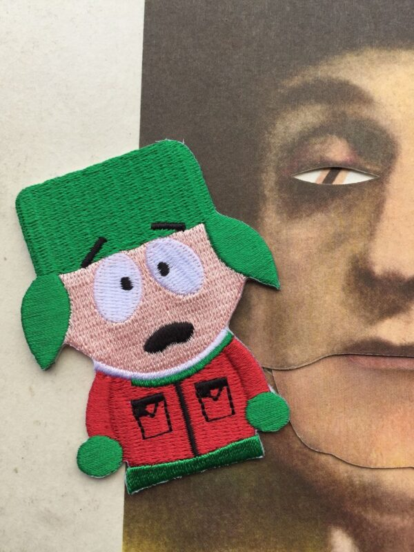 product details: SOUTH PARK KYLE BROFLOVSKI EMBROIDRED PATCH photo