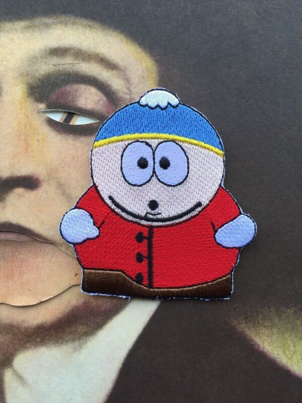 product details: SOUTH PARK ERIC CARTMAN EMBROIDERED PATCH photo