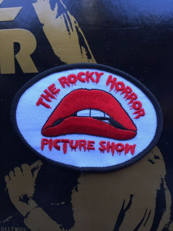 product details: ROCKY HORROR PICTURE SHOW LIPS LOGO EMBROIDRED PATCH photo