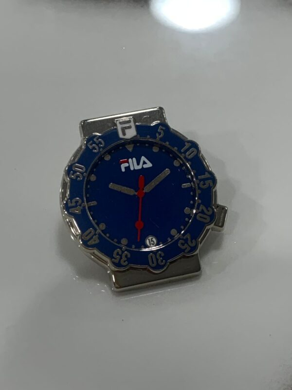 product details: FILA STOPWATCH PIN photo