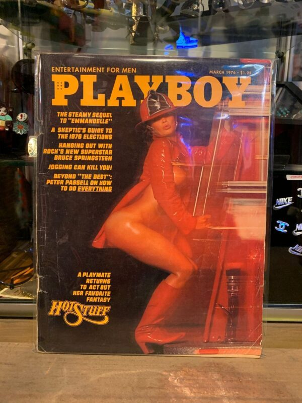 product details: PLAYBOY MAGAZINE - MAR 1976 HOT STUFF photo