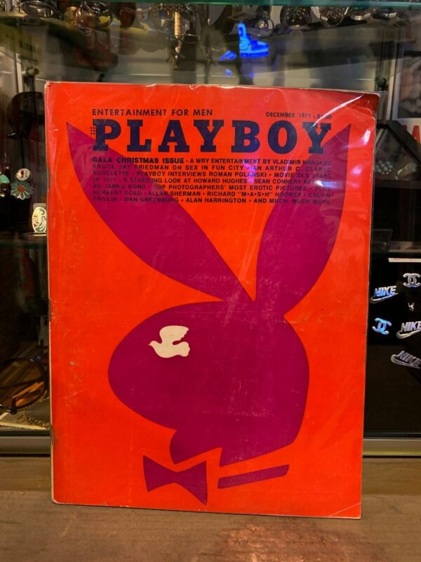 product details: PLAYBOY MAGAZINE - DEC 1971 GALA CHRISTMAS ISSUE AS-IS photo