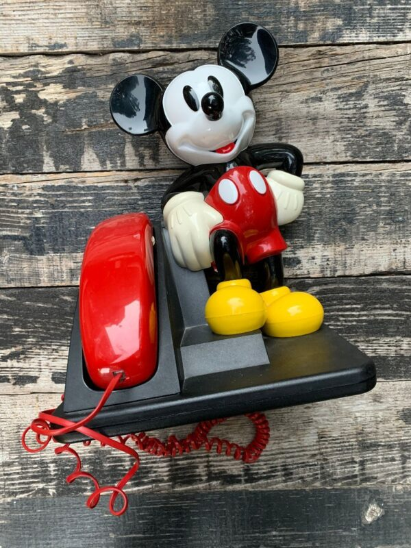 product details: RAD 1980S MICKEY MOUSE TELEPHONE photo