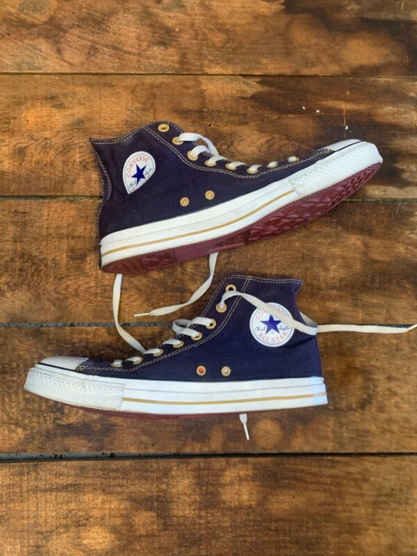 product details: CHUCK TAYLOR ALL STAR NAVY LACE UP SNEAKERS photo