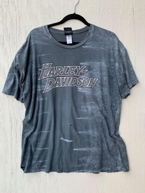 product details: THIN SUPER SOFT T-SHIRT BLEACHED BOBBYS TERRITORIAL HARLEY DAVIDSON YUMA, ARIZONA photo