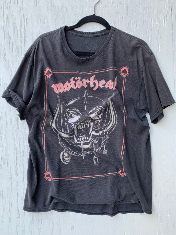 product details: TSHIRT MOTORHEAD SUPER SOFT CLASSIC FRONT GRAPHIC photo