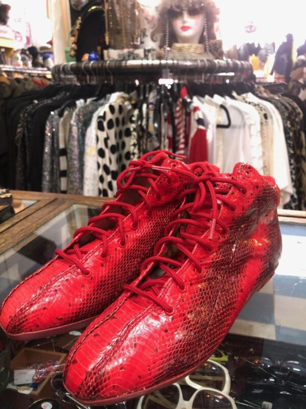 product details: GENUINE SNAKESKIN SHOES FROM THE 1970S 3-41 photo