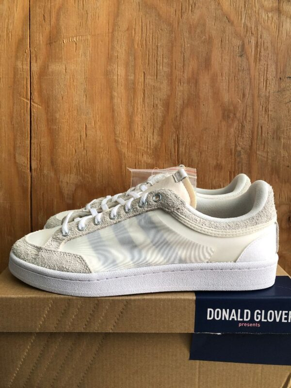 product details: ADIDAS X DONALD GLOVER AMERICANA LOW DG OFF WHITE SHOE *NEW IN BOX photo