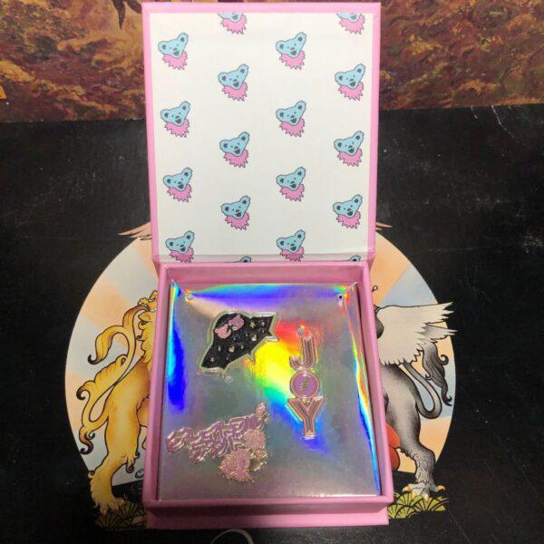 product details: GRATEFUL DEAD 3PC PIN SET photo