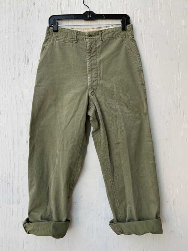product details: CLASSIC MILITARY PANTS STRAIGHT LEG AS-IS photo