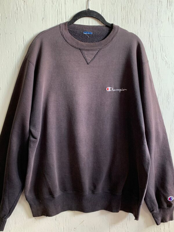 product details: CLASSIC CHAMPION EMBROIDERED SMALL CHEST LOGO CREW NECK SWEATSHIRT -AS IS photo