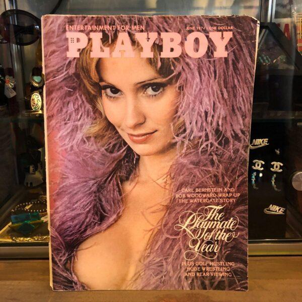 product details: PLAYBOY MAGAZINE- JUNE 1974- SANDY JOHNSON photo