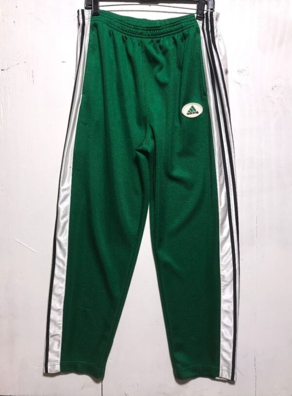 product details: ADIDAS SNAPUP TEARAWAY BASKETBALL WARM UP TRACK PANTS photo