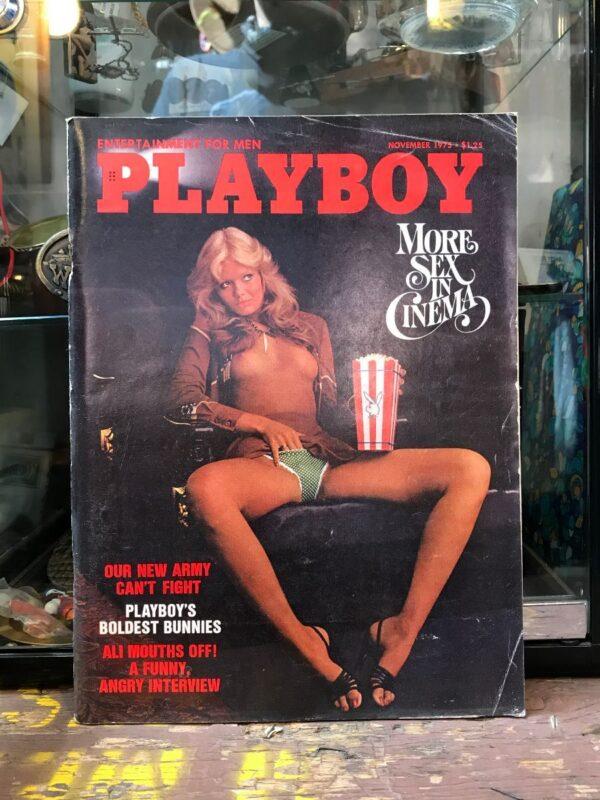 product details: PLAYBOY MAGAZINE | NOV 1975 MUHAMMAD ALI | MORE SEX IN CINEMA | BOLDEST BUNNIES photo