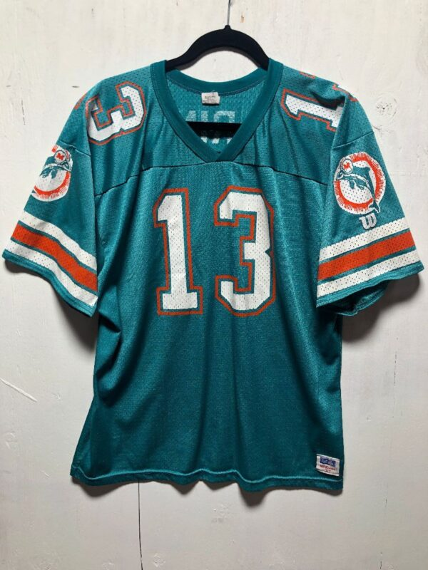 product details: NFL MIAMI DOLPHINS FOOTBALL JERSEY #13 MARINO photo