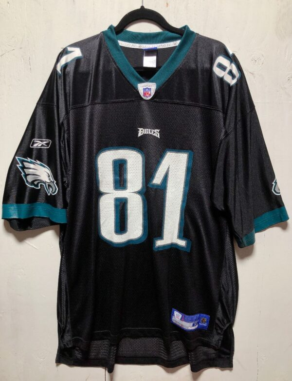 product details: NFL PHILADELPHIA EAGLES FOOTBALL JERSEY #81 OWENS AS-IS photo