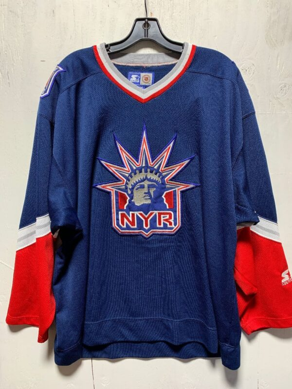 product details: NHL NEW YORK RANGERS HOCKEY JERSEY AS-IS photo
