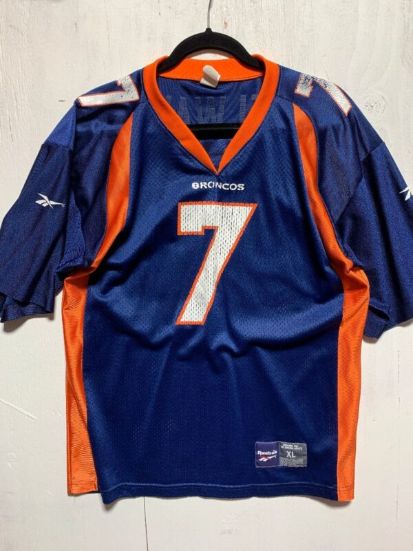 product details: NFL DENVER BRONCOS FOOTBALL JERSEY #7 ELWAY photo