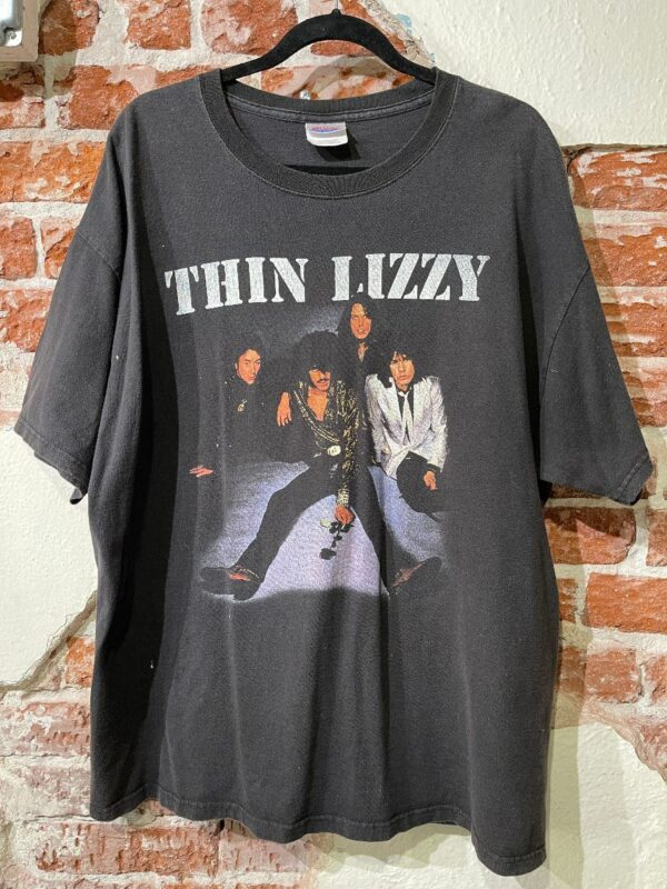 product details: THIN LIZZY BAND GRAPHIC T-SHIRT AS-IS photo