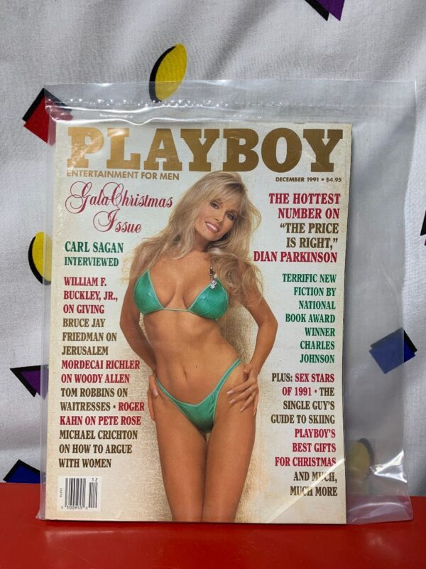 product details: PLAYBOY MAGAZINE | DECEMBER 1991 | DIAN PARKINSON- GALA CHRISTMAS ISSUE photo