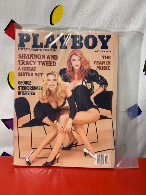 product details: PLAYBOY MAGAZINE | MAY 1991 | SHANNON AND TRACY TWEED photo