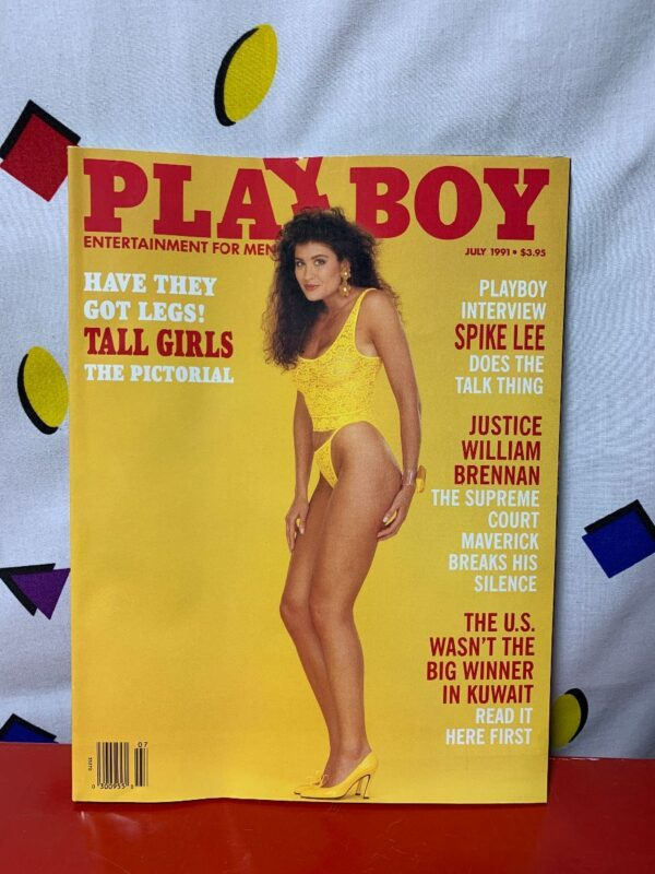 product details: PLAYBOY MAGAZINE | JULY 1991 | HAVE THEY GOT LEGS! TALL GIRLS THE PICTORIAL photo