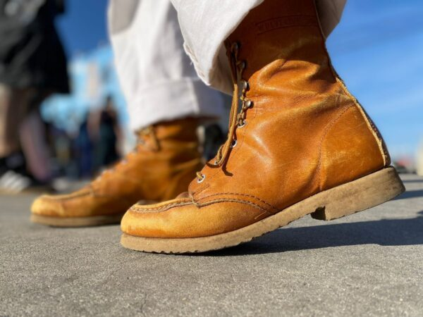 product details: CLASSIC BUTTER SOFT LACE UP WORK BOOTS photo